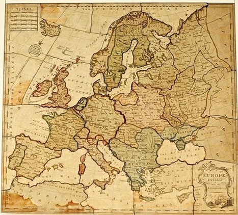 Dissected Maps: the First Jigsaw Puzzles | Fantastic Maps | Scoop.it
