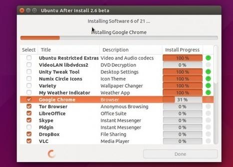 Ubuntu After Install – Ajouter facilement toute une série de logiciels   Actualités de l'open source   Scoop.it