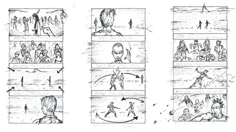 Something Sketchy: A Beginner's Guide to Storyboarding | Living Story | Scoop.it