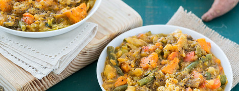 Creamy Sweet Potato and Vegetable Stew - Forks Over Knives | Vegan Food | Scoop.it
