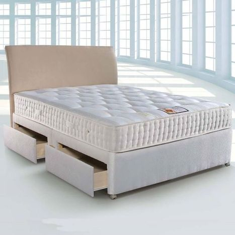 Give your bedroom an alluring look with this diven beds | Beds Direct UK | Bedroom Furniture | Scoop.it