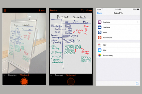 "Application - Office Lens, le scanner de poche, arrive sur iPhone et ... - Graphiline | Outils numériques ""online"" 
