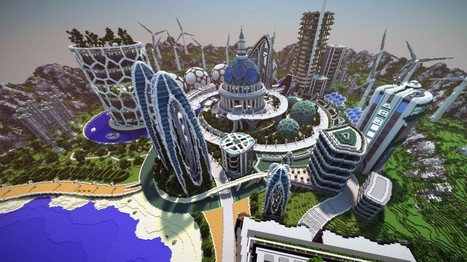 Climate hope city : la ville du futur imaginée par The Guardian et Minecraft | Urbanisme | Scoop.it