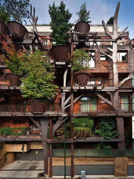 Un immeuble-forêt à Turin signé Luciano Pia | Dans l'actu | Doc' ESTP | Scoop.it