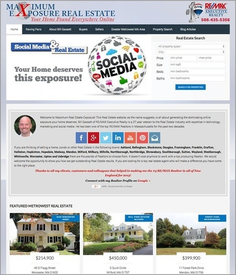 Top Website Designs For Real Estate | Real Estate Marketing | Scoop.it