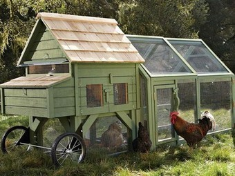 The $1300 Chicken Coop: Williams-Sonoma Goes Agrarian | Vertical Farm - Food Factory | Scoop.it