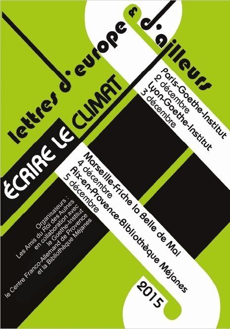 Lettre d'Europe & d'ailleurs - Rencontres littéraires internationales, Marseille & Aix-en-Provence, 4 & 5 décembre | Passage & Marseille | franco-allemand | Scoop.it