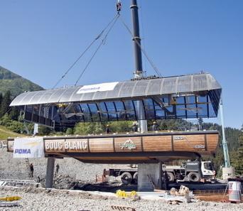 Les chantiers en cours dans les stations alpines | Stations de ski, parcs de loisirs, bons plans | Scoop.it