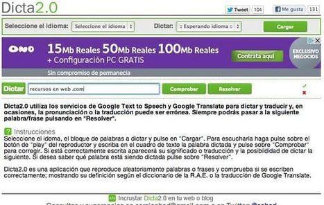 Dicta2.0, dictados en varios idiomas para mejorar la ortografía y el listening | ebookPC | Scoop.it