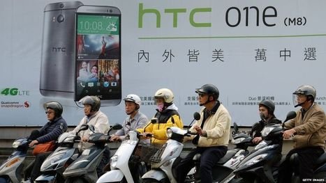 HTC dropped from main Taiwan stock index after share price fall - BBC News | Insights into International Business | Scoop.it