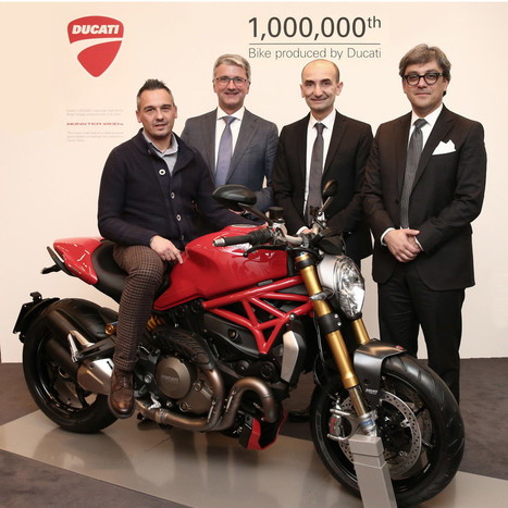 Ducati Makes It One Million | Ductalk Ducati News | Scoop.it