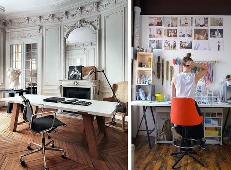 La Fabrique à Déco: Aménager son espace de travail à la maison | Astuces pratiques Déco | Scoop.it
