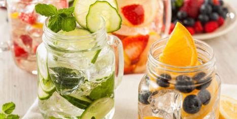 Detox Water : les recettes incontournables des eaux aux fruits - Terrafemina   Détox   Scoop.it