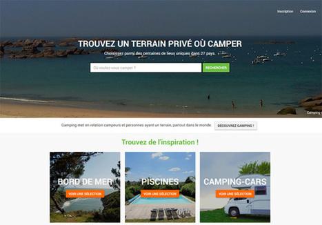 Gamping : le camping de ma tente... chez l'habitant ! | HOTELS & TOURISME | Scoop.it