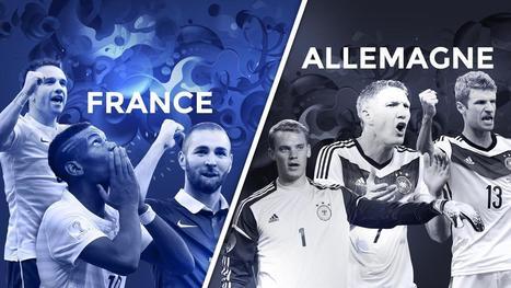 Avant match 1/4 de finale : France - Allemagne - Coupe du monde - Brésil 2014 | Coupe du monde - Brésil 2014 | Scoop.it