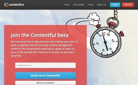 Contentful   Top Social Media Tools   Scoop.it