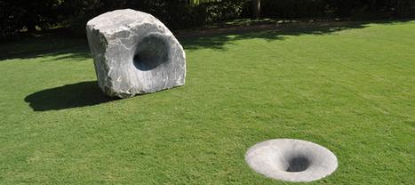 Anish Kapoor: Black Stones   Art Installations, Sculpture, Contemporary Art   Scoop.it