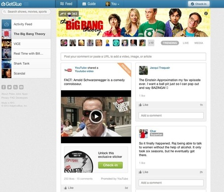 YouTube Taps GetGlue Fans to Promote Comedy Week | Second Screen, Social TV, Connected TV, Transmedia and TV Apps Market | Scoop.it
