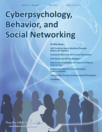 Volume 15, Issue 5 | Cyberpsychology, Behavior, and Social Networking | Table of Contents | Internet Psychology | Scoop.it