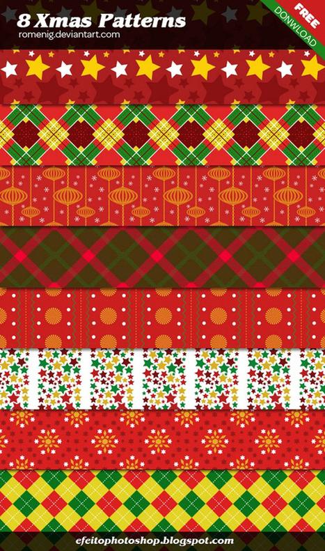 50 Elementos de Navidad en formato PSD | e-learning y moodle | Scoop.it