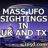 Mass UFO Sightings In Texas And UK | in5d Alternative News | in5d.com | | promienie | Scoop.it