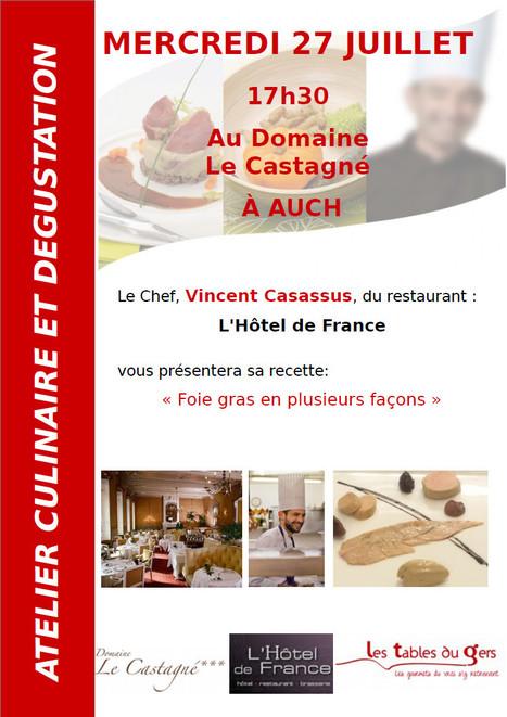 Ateliers culinaires Tables du Gers dans les campings gersois du 25 au 27 juillet | Les Tables du Gers | Scoop.it