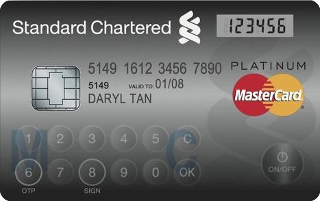 MasterCard dévoile sa nouvelle génération de carte bancaire à écran LCD ! | Entreprises & co | Scoop.it