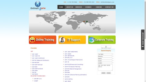 SAP ONLINE TRAINING | HANA | BPC | CRM | Testing Tools | ABINITIO | OBIEE | MICROSTRATEGY | PLACEMENT ASSISTANCE | ONLINE  TRAINING | Scoop.it