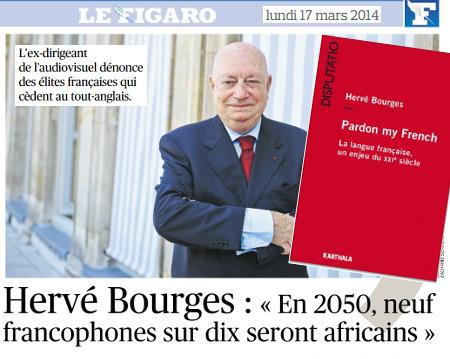 Hervé Bourges (30e promo ESJ): «En 2050, neuf francophones sur dix seront africains»   DocPresseESJ   Scoop.it