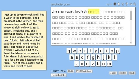 Guided / scaffolded translation activities | BLENDED LANGUAGE LEARNING | Scoop.it