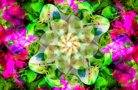 Create a Beautiful Artistic Kaleidoscope Background | Textures and Backgrounds Journal | Scoop.it