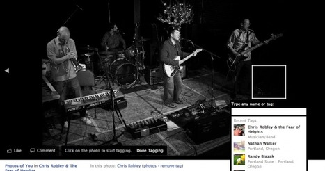 Facebook Now Allows Bands to Be Tagged in Photos | Music business | Scoop.it