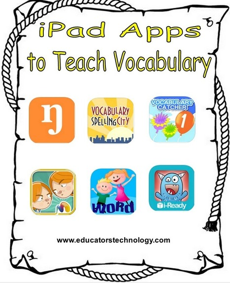 6 Good iPad Apps for Teaching Vocabulary to Young Learners ~ Educational Technology and Mobile Learning | Technology in the Classroom | Scoop.it