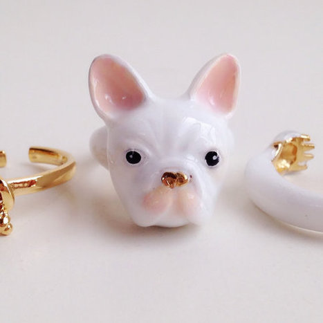 3-Piece Rings That Need to Be Worn at Once to Become Playful Animals   Le It e Amo ✪   Scoop.it