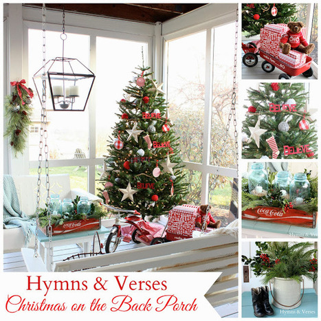 Christmas on the Back Porch   Christmas Ideas and Gifts   Scoop.it