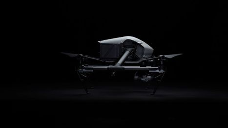 DJI's new Inspire 2 drone is packing two cameras | BT | Scoop.it