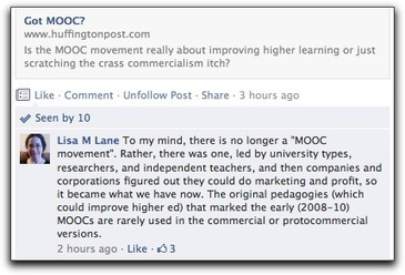 Five short years to MOOC corruption « Lisa's (Online) Teaching Blog | MOOC | Scoop.it