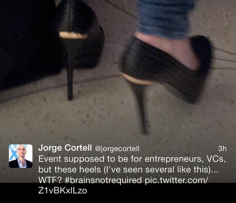 Tech CEO thinks women who wear heels are brainless #getalife | Innovative Woman | Scoop.it