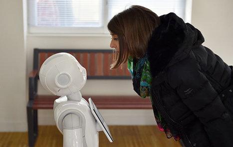 Au Japon, un robot-humanoïde débarque au collège | Une nouvelle civilisation de Robots | Scoop.it