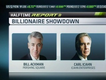 Bill Ackman And Carl Icahn Just Brawled On CNBC In The Greatest Moment In Financial TV History | Featured at fifthestate.co | Scoop.it