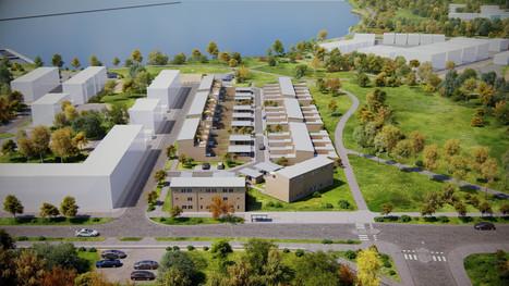 Första spadtaget för Brf Skeppsbyggaren – stadsradhus på Brandholmen | Bostad | Scoop.it