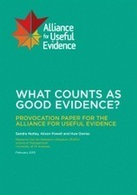 What counts as good evidence? | Better Evaluation | Evaluation Digest | Scoop.it