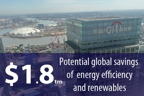 Citi: Renewables and energy efficiency will reduce global energy bill by $1.8trn | sustainability | Scoop.it