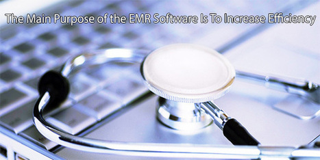 The Main Purpose of the EMR Software Is To Increase Efficiency | Business | Scoop.it