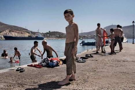 This 9-Year-Old Syrian Boy Got Lost Along the Refugee Trail in Greece | Upsetment | Scoop.it
