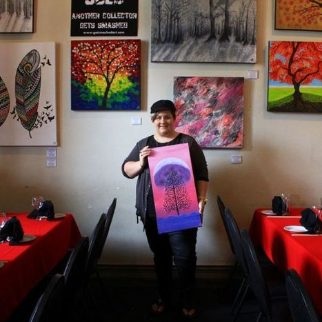 Mackay artist with Asperger's syndrome acknowledged | autism - Australian interest | Scoop.it