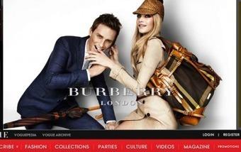 Burberry grabs eyes in multi-faceted Vogue display | Digital Luxury Chronicles | Scoop.it