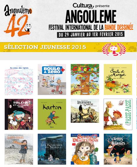 29 janv - 1er fév 2015 : La Sélection Jeunesse 2015 Festival BD d'Angoulême compte cette année 12 albums en compétition.   BD interactive   Scoop.it