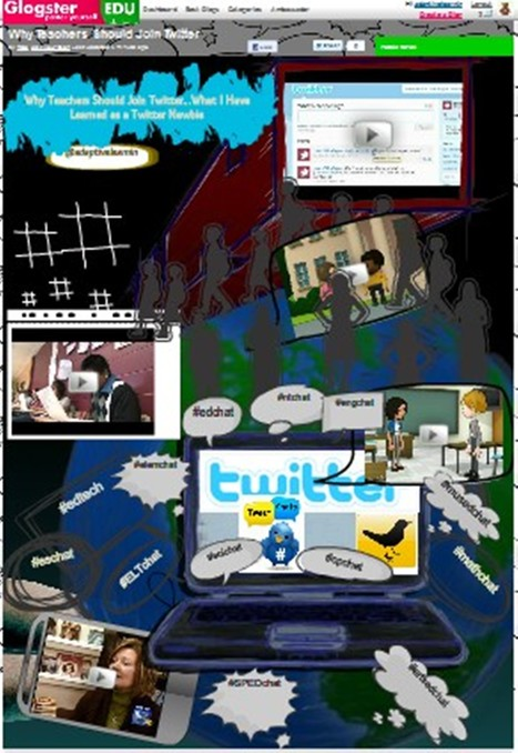 Glog for Presentations for Why Teachers Should JoinTwitter | adaptivelearnin | Scoop.it