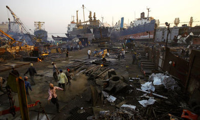 Europe's ship-breaking proposals may be illegal, lawyers warn | News in english | Scoop.it